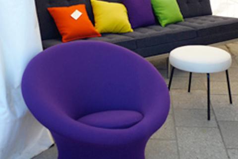 les 23e puces du design tapes. Black Bedroom Furniture Sets. Home Design Ideas