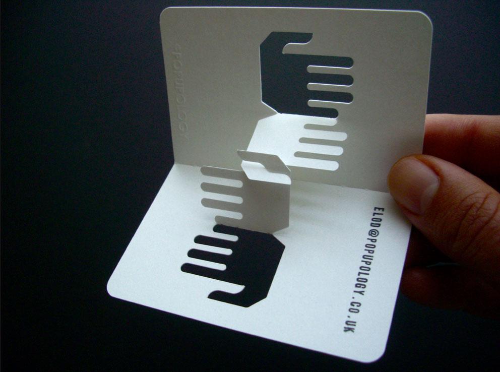 Des Cartes De Visites En 3D