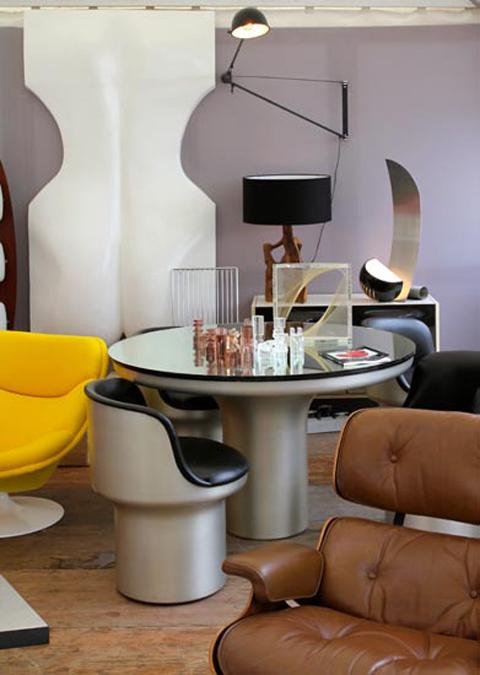 les puces du design tapes. Black Bedroom Furniture Sets. Home Design Ideas
