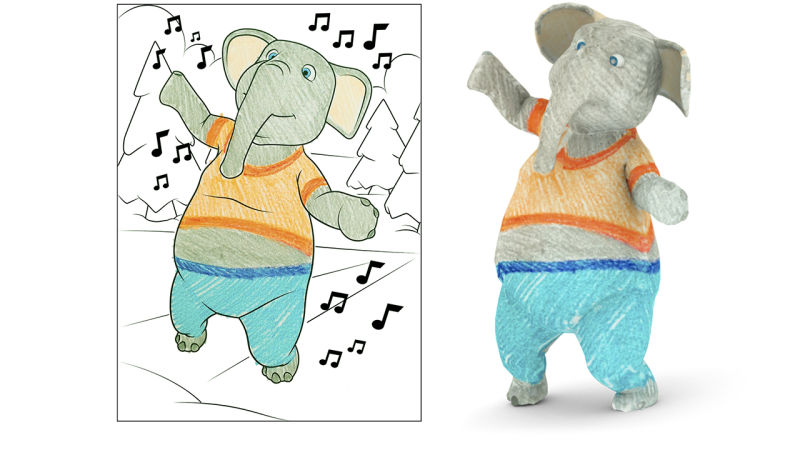 Disney Travaille Sur Une Application De Coloriage En 3d
