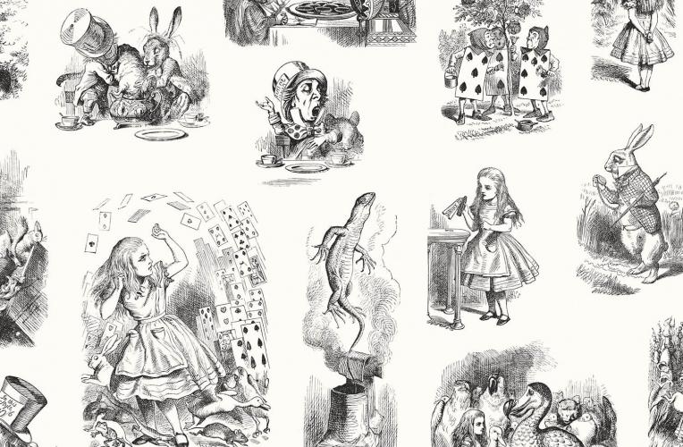 Un Wallpaper Remasterise Les Illustrations Dalice Au Pays
