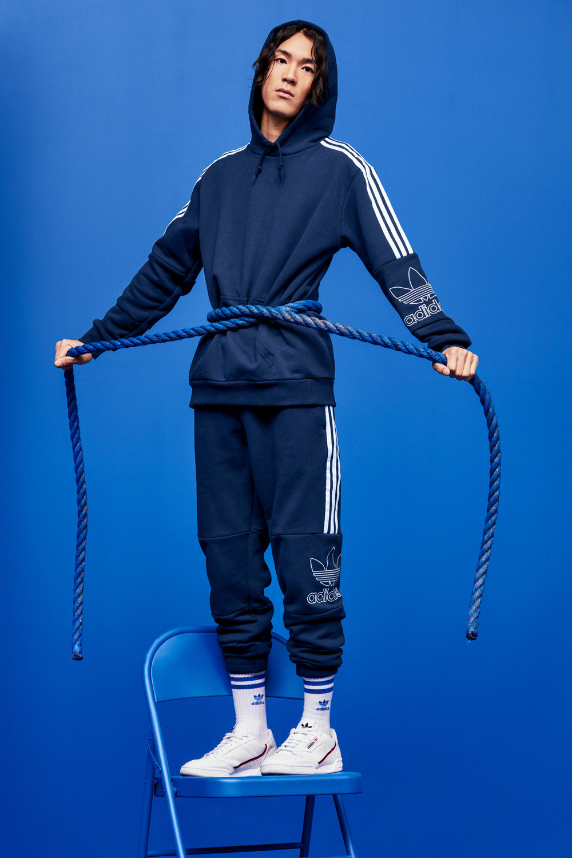 Adidas Originals, une campagne tout en couleur étapes: