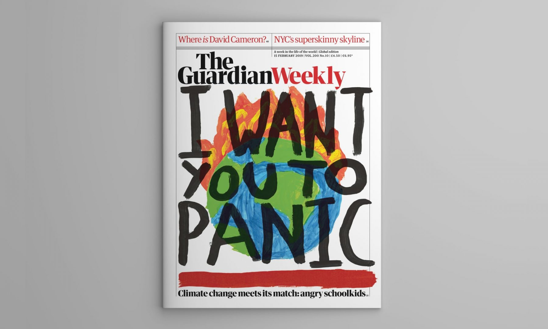 Guardian weekly children issue on climate change