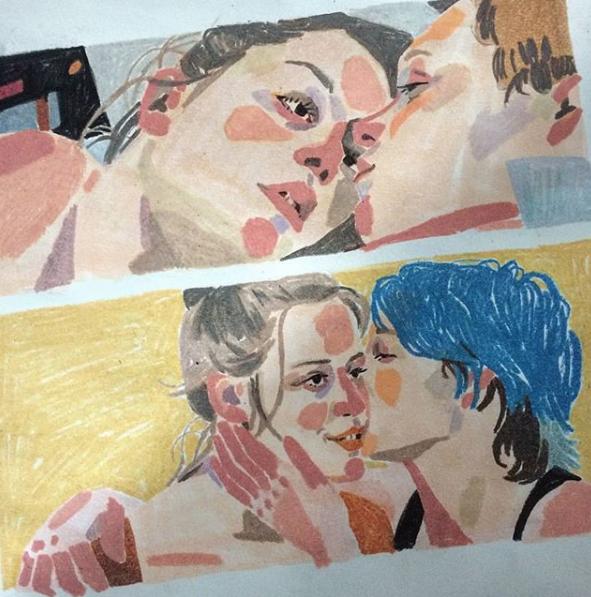 Eunkyoung Son illustre La Vie d'Adèle