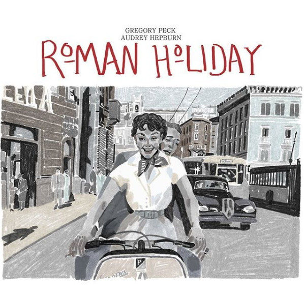 Eunkyoung Son illustre Roman Holiday