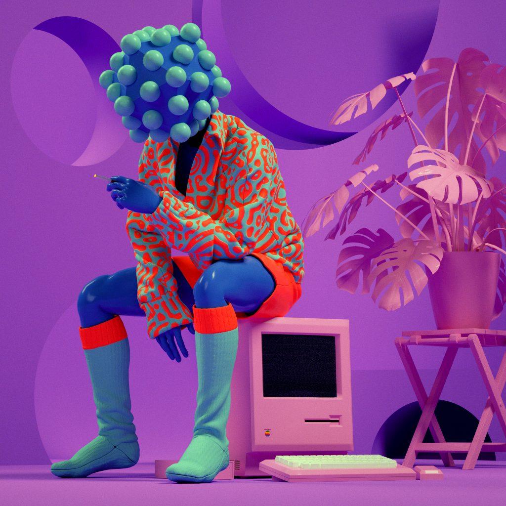 Création digitale de Kota Yamaji