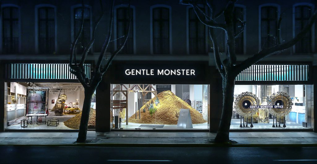gentle monster étapes: