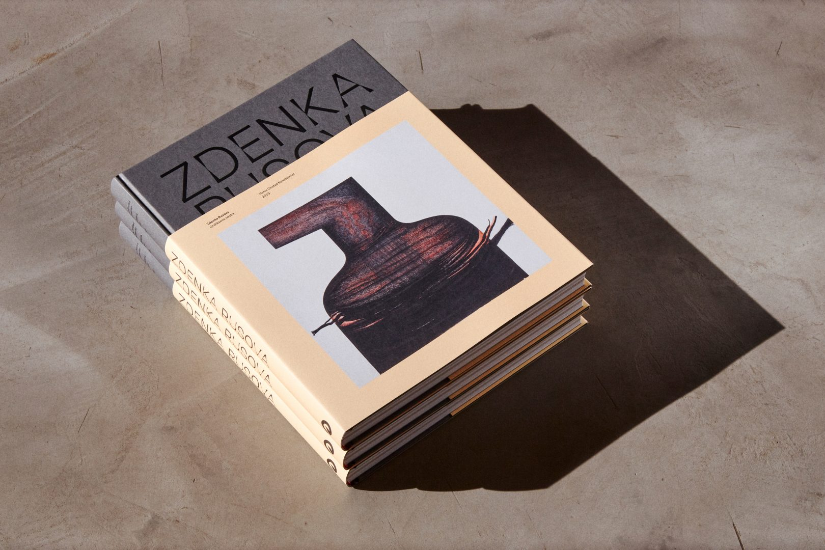 ANTI designed a catalogue for Zdenka Rusova exhibition