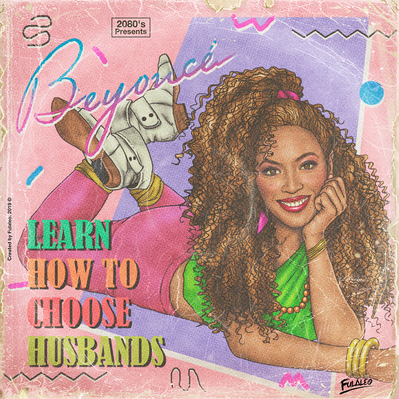 Beyoncé en mode années 1980
