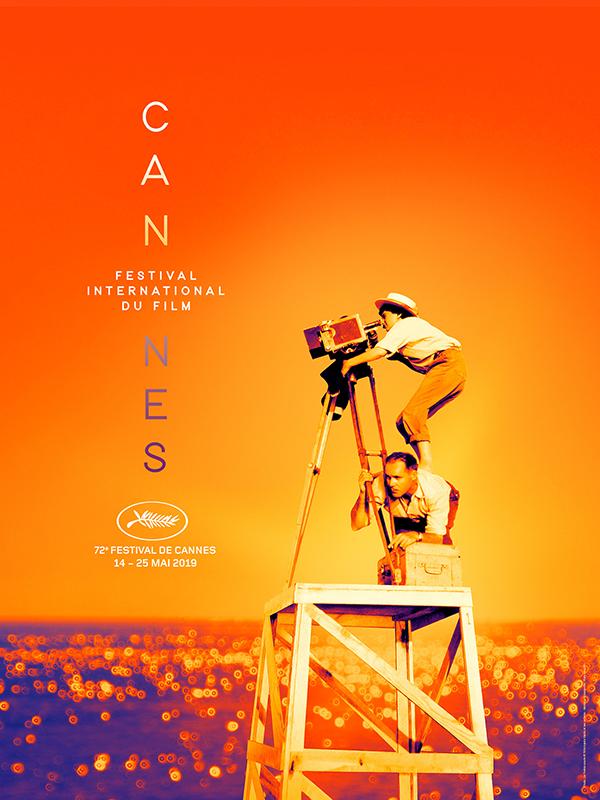 Festival de Cannes affiche 2019 Agnès Varda - Création Flore Maquin