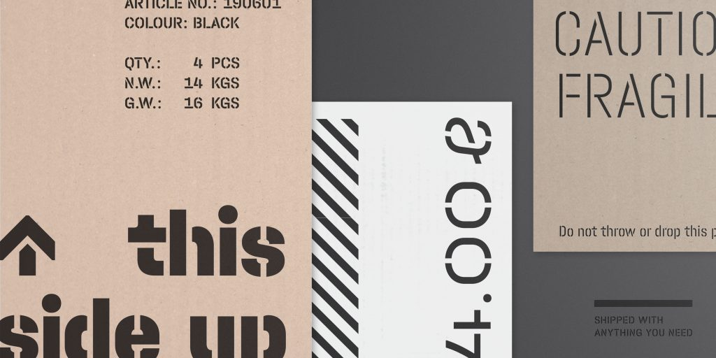 Halvar Stencil Typemates étapes