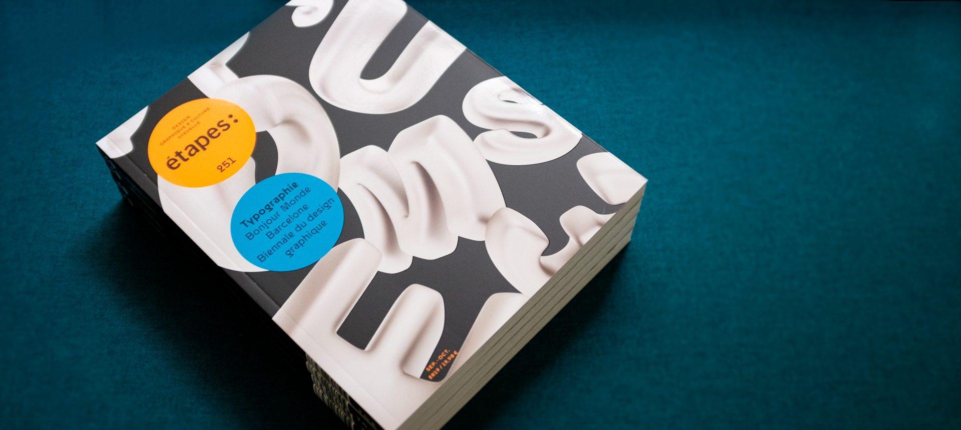 étapes: 251 spécial typographie