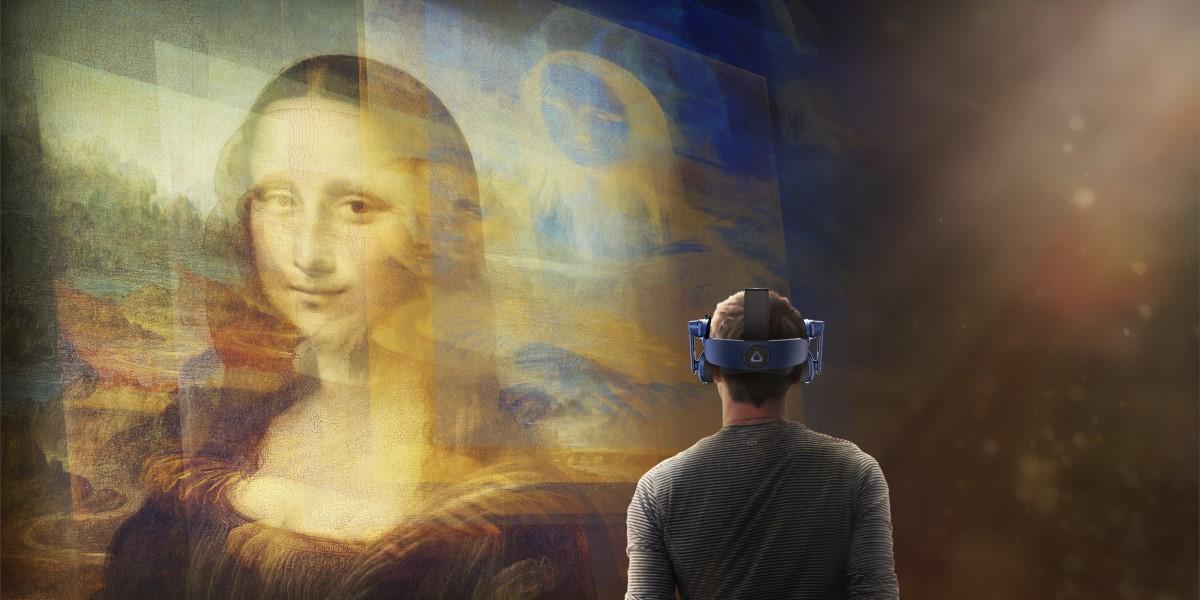 Mona Lisa réalité virtuelle au Louvre