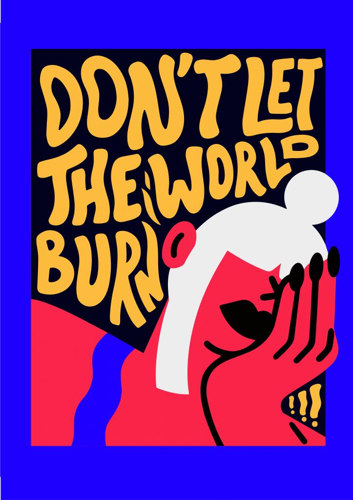 Marylou Faure Protest By Design affiches lutte contre changement climatique