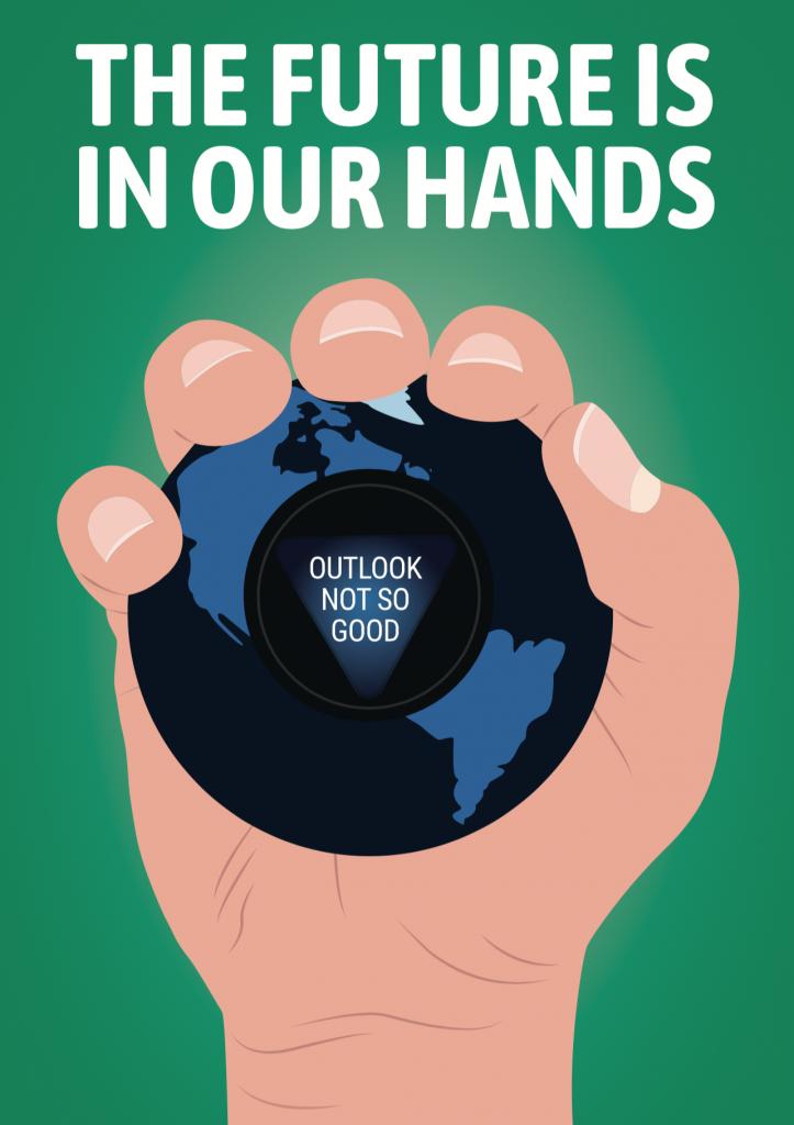 Rachael Vashak Protest By Design affiches changement climatique