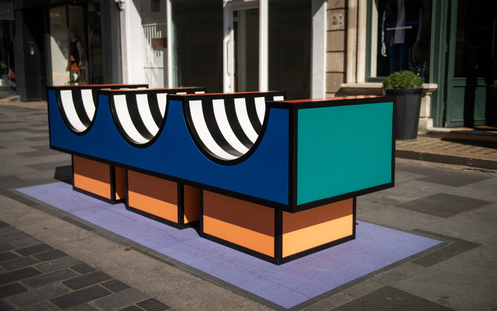 Camille Walala rue South Molton London Design Festival