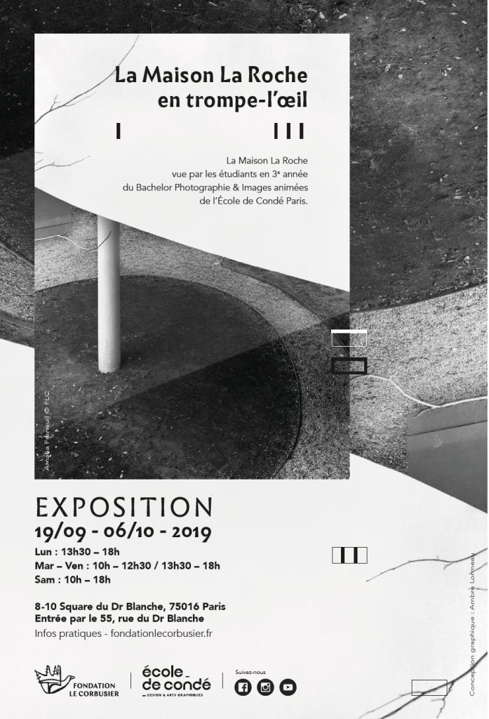 École de Condé expo photo Fondation  Le Corbusier