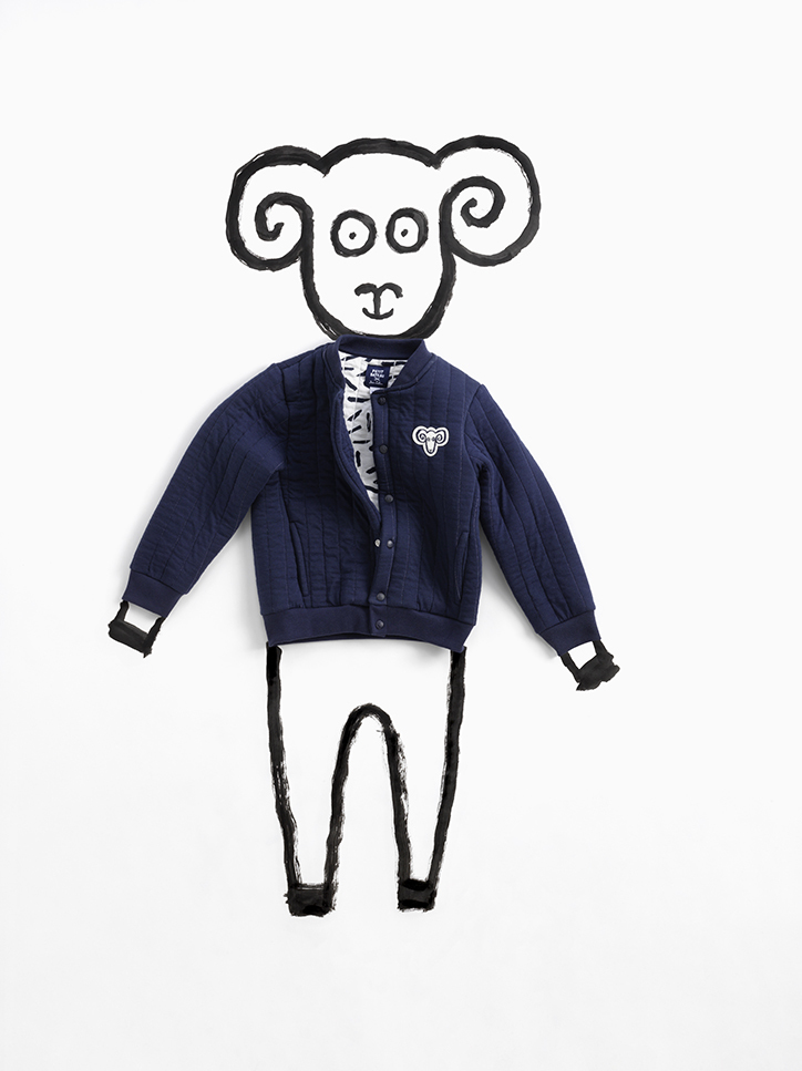 Jean Jullien Petit Bateau illustration collection capsule