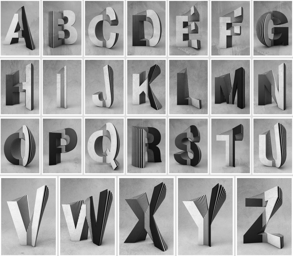 Txaber typographie layer