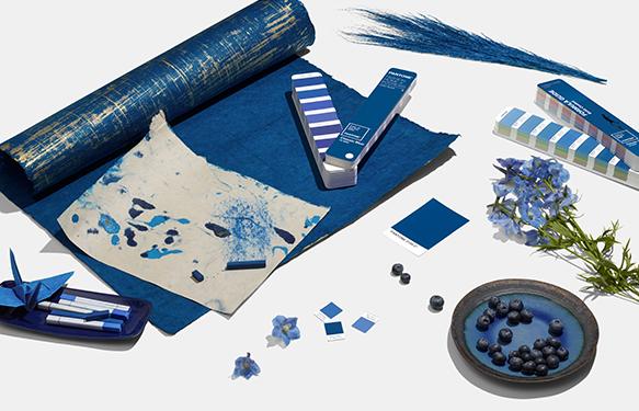 Couleur de l'année Pantone 2020 Classic Blue