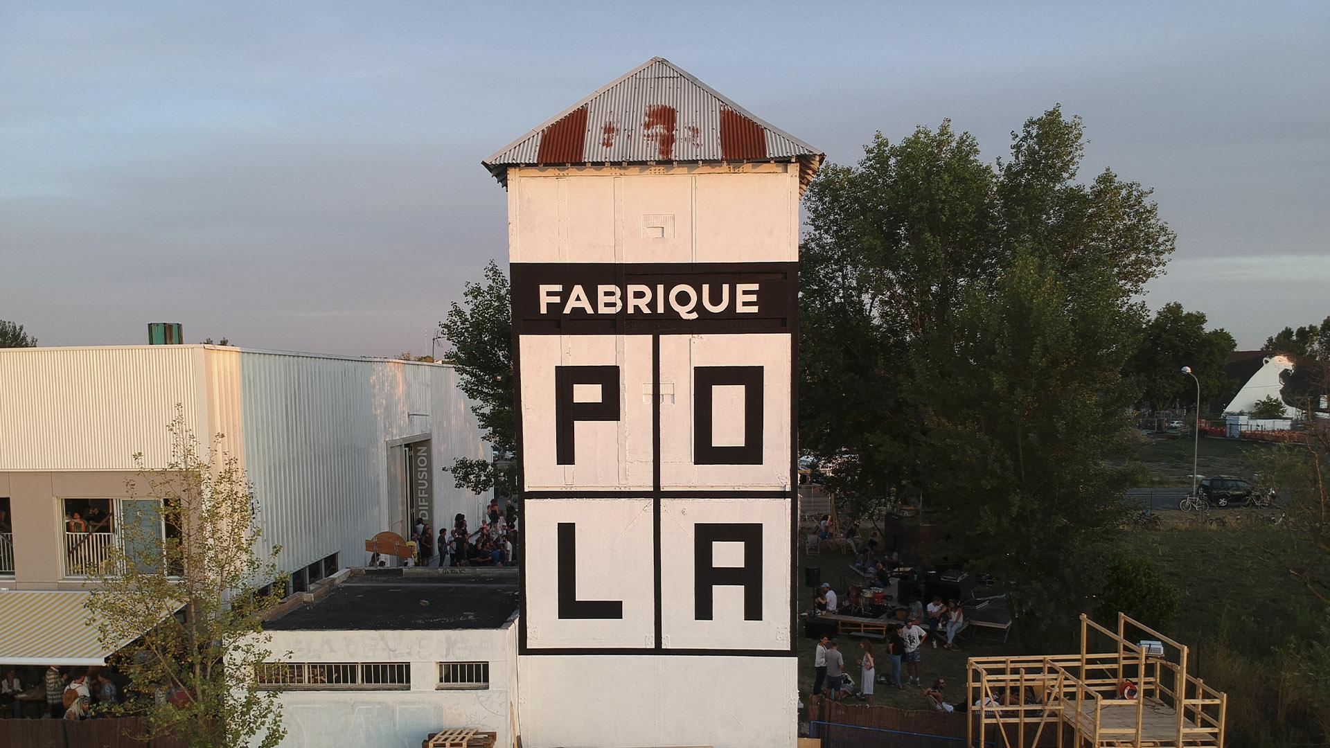 La Fabrique Pola : une identité graphique modulable - étapes