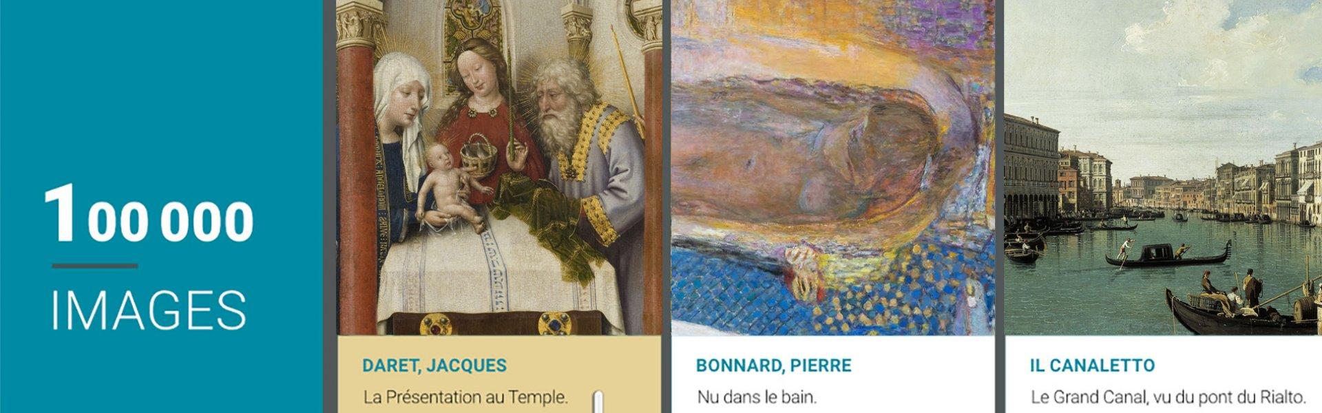 100 000 œuvres des collections des musées de la Ville de Paris en libre accès - étapes